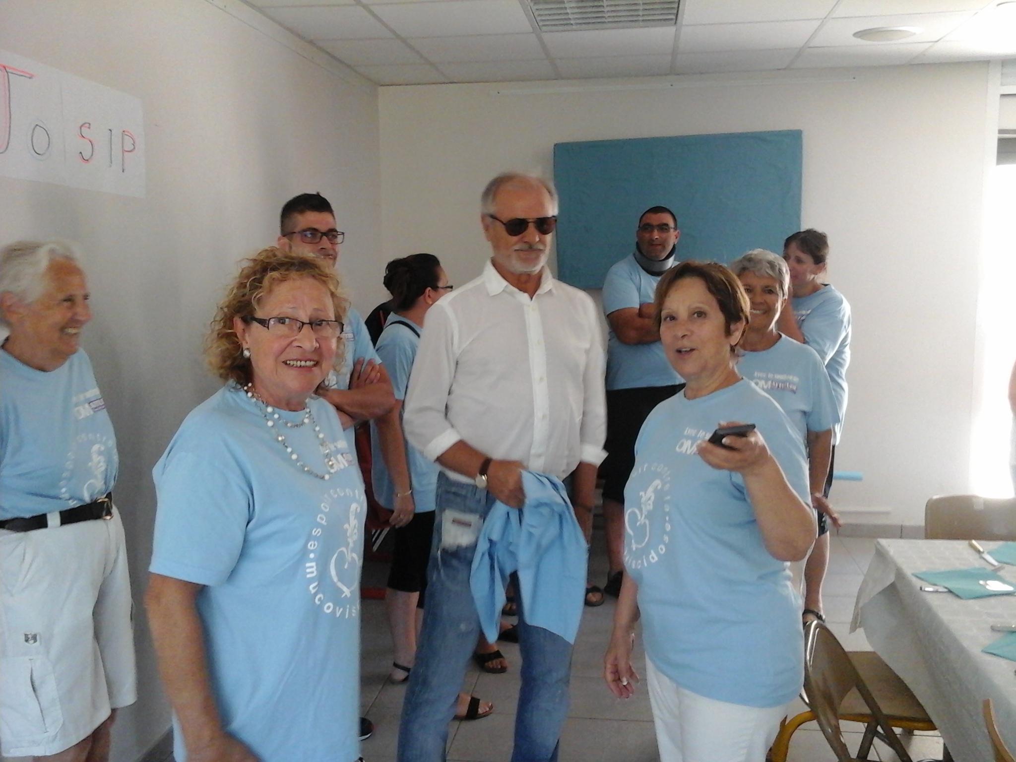 27 juin 2015 – Visite de notre parrain Josip Skoblar
