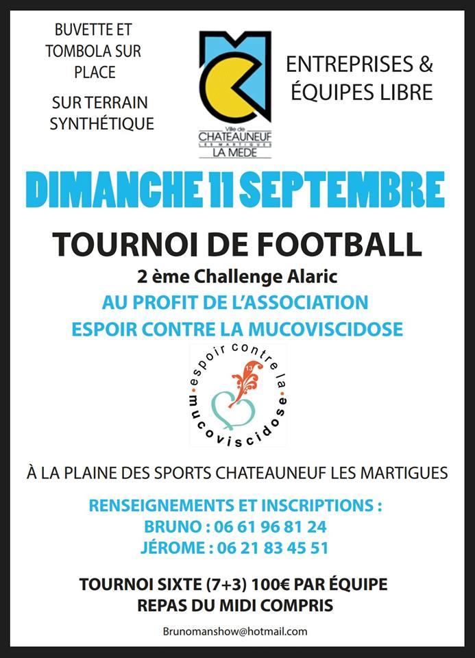 « challenge Alaric » - 11 septembre à Châteauneuf-les-Martigues