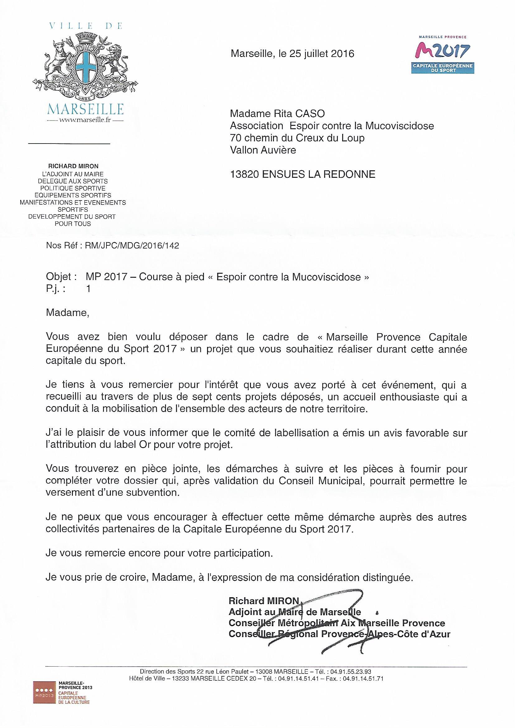 6H - 12H - 24H DE L'ESPOIR