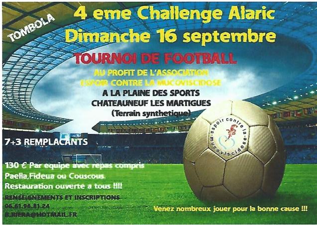 Challenge Alaric - 16 septembre 2018