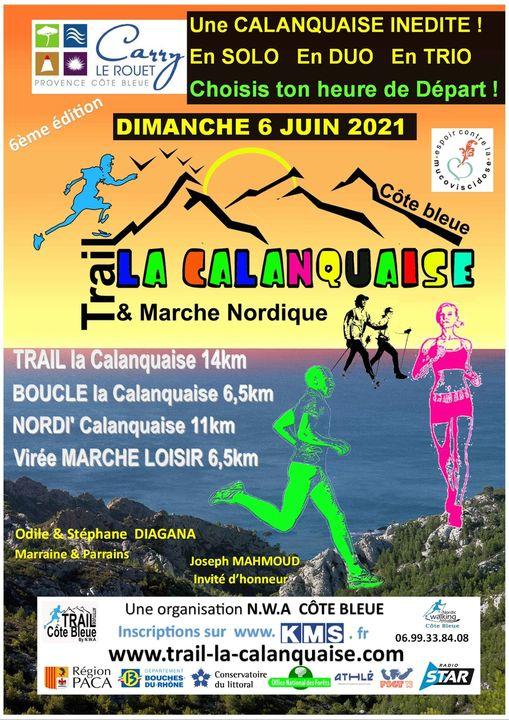 Trail la Calanquaise - 6ème édition